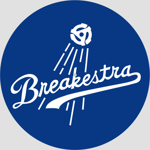 Slipmat - Breakestra Blue