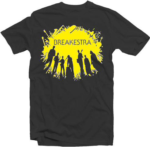 2012 Breakestra Tour T-Shirt